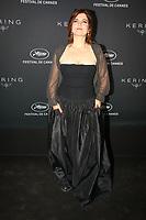 Agnès Jaoui en photocall avant la soiréee Kering Women In Motion Awards lors du soixante-dixième (70ème) Festival du Film à Cannes, Place de la Castre, Cannes, Sud de la France, dimanche 21 mai 2017. Philippe FARJON / VISUAL Press Agency