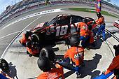 2017 NASCAR Xfinity Series - Boyd Gaming 300<br /> Las Vegas Motor Speedway - Las Vegas, NV USA<br /> Saturday 11 March 2017<br /> Kyle Busch, NOS Energy Drink Toyota Camry pit stop<br /> World Copyright: Nigel Kinrade/LAT Images<br /> ref: Digital Image 17LAS1nk04852