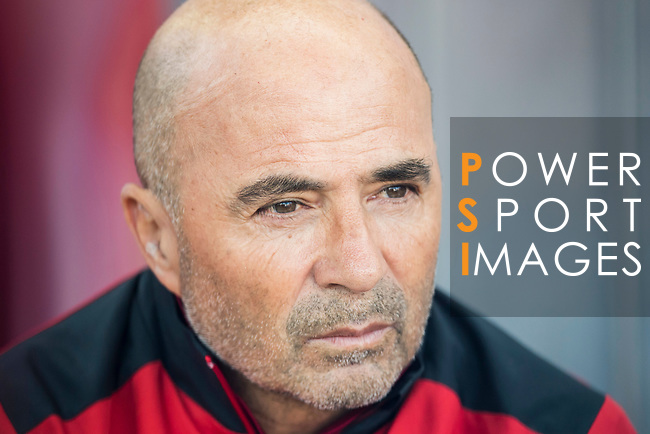 Coach Jorge Luis Sampaoli of Sevilla FC prior to the La Liga match between Atletico de Madrid and Sevilla FC at the Estadio Vicente Calderon on 19 March 2017 in Madrid, Spain. Photo by Diego Gonzalez Souto / Power Sport Images