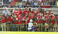 Photographers during the FIFA World Cup 2002.
