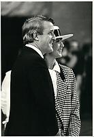 Brian et Mila Mulroney en septembre 1984<br /> <br /> PHOTO : agence quebec presse