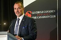 Joey Saputo<br /> , President, Impact de Montreal at Stade Saputo a la tribune du Cercle canadien de Montreal, lundi 30 Janvier 2017.<br /> <br /> PHOTO : Philippe Manh Nguyen<br />  - Agence Quebec Presse