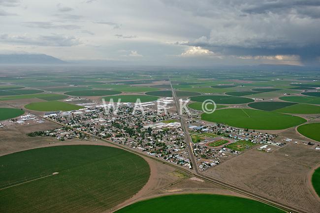 Center, Colorado.  San Luis Valley. July 2014. 86072