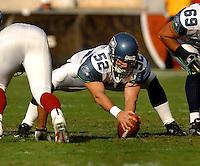 Nov. 6, 2005; Tempe, AZ, USA; Long snapper (52) Jean Phillippe Darche of the Seattle Seahawks against the Arizona Cardinals at Sun Devil Stadium. Mandatory Credit: Mark J. Rebilas