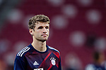 Bayern Munich Forward Thomas Muller Warming up during the International Champions Cup match between FC Bayern and FC Internazionale at National Stadium on July 27, 2017 in Singapore. Photo by Marcio Rodrigo Machado / Power Sport Images