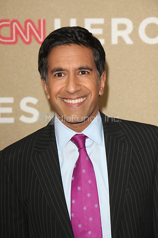 Sanjay Gupta at the CNN Heroes: An All-Star Tribute at The Shrine Auditorium on December 11, 2011 in Los Angeles, California.