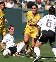 Malin Andersson, Germany 2-1 over Sweden at the  WWC 2003 Championships.