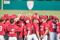 STANFORD, CA - JUNE 6: Pregame before a game between UC Irvine and Stanford Baseball at Sunken Diamond on June 6, 2021 in Stanford, California.