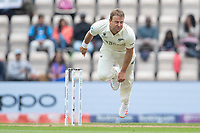 Neil Wagner, New Zealand follows through during India vs New Zealand, ICC World Test Championship Final Cricket at The Hampshire Bowl on 20th June 2021