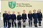 Ballyduff NS: The boys and girls in M/s Lucid's class on their first day at school at Ballyduff NS.