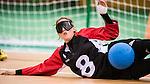 Meghan Mahon, Rio 2016 - Goalball. <br /> Team Canada competes in Women's Goalball preliminary against China // Équipe Canada participe aux préliminaires du goalball féminin contre la Chine. 12/09/2016.