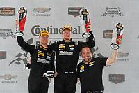 IMSA Continental Tire SportsCar Challenge<br /> Road America 120<br /> Road America, Elkhart Lake, WI USA<br /> Saturday 5 August 2017<br /> 25, Mazda, Mazda MX-5, ST, Chad McCumbee, Stevan McAleer, podium<br /> World Copyright: Michael L. Levitt<br /> LAT Images