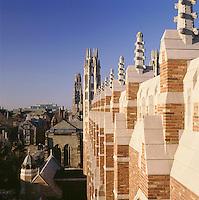 Law School parapet, Yale University, New Haven, CT