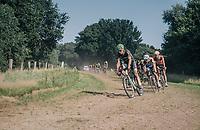 Dennis van Winden (NED/Israel Cycling Academy) coming through the grass section<br /> <br /> 92nd Schaal Sels 2017 <br /> 1 Day Race: Merksem > Merksem (188km)