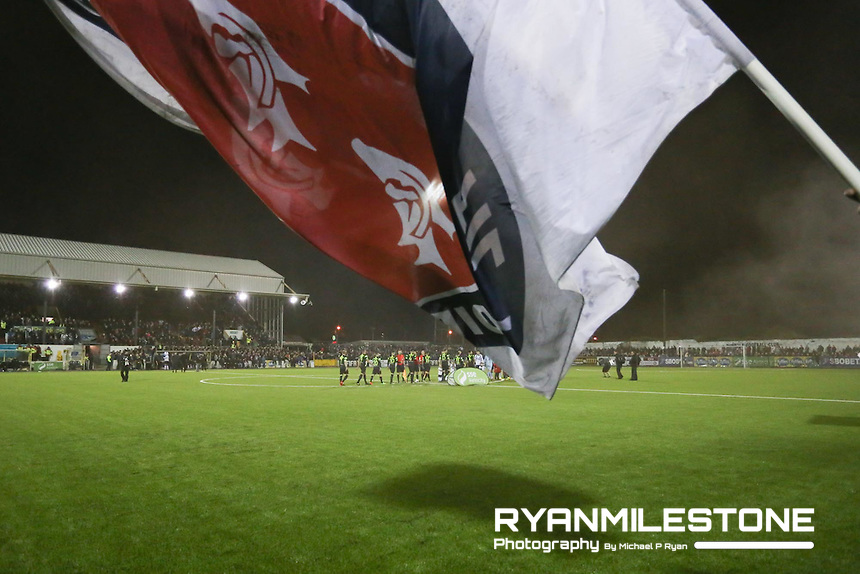 SSE Airtricity League Premier Division, Dundalk v Shamrock Rovers, Friday 24th February 2017, Oriel Park, Dundalk, Co Louth,