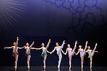 EN SOL....Choregraphie : ROBBINS Jerome..Mise en scene : ROBBINS Jerome..Compositeur : RAVEL Maurice..Compagnie : Ballet de l Opera National de paris..Decor : ERTE..Lumiere : TIPTON Jennifer..Costumes : ERTE..Avec :..LE RICHE Nicolas..ALBISSON Amandine..BELLET Aurelia..GRANIER Christelle..RENAVAND Alice..WESTERMANN Severine..ROBERT Caroline..GAUDION Mallory..Lieu : Opera Garnier..Ville : Paris..Le : 21 04 2010..© Laurent PAILLIER / photosdedanse.com