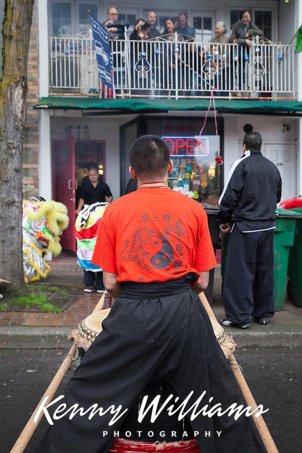 Chinese New Year 2016, Chinatown, Seattle, WA, USA.