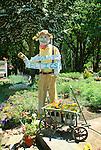 Garden Center scarecrow