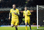 Rangers v St Johnstone…16.12.17…  Ibrox…  SPFL<br />Denny Johnstone celebrates his goal<br />Picture by Graeme Hart. <br />Copyright Perthshire Picture Agency<br />Tel: 01738 623350  Mobile: 07990 594431