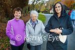 Nora Mary Ring, Doireann and Sheila O'Sullivan enjoying a stroll in Killarney National Park on Saturday.