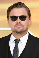 """Leonardo Dicaprio<br /> arriving for the """"Once Upon a Time... in Hollywood"""" premiere, Leicester Square, London<br /> <br /> ©Ash Knotek  D3514  30/07/2019"""