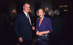 NICOLA ROMANOVIC ROMANOV CON MARINA DORIA DI SAVOOIA<br /> COCKTAIL PARTY IN ONORE DI GORBACIOV - HOTEL BAGLIONI ROMA 11-2000