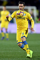 Francesco Cassata of Frosinone in action during the Serie A 2018/2019 football match between Frosinone and AS Roma at stadio Benito Stirpe, Frosinone, February 23, 2018 <br /> Foto Andrea Staccioli / Insidefoto
