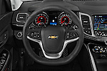 Car pictures of steering wheel view of a 2017 Chevrolet SS 6.2 4 Door Sedan Steering Wheel
