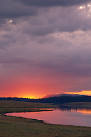 Sunrise at Big Lake<br /> Apache National Forest<br /> White Mountains<br /> Colorado Plateau,  Arizona
