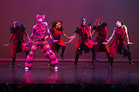 wUNDERland hip-hop dance show presented by COCA in St. Louis, Missouri on Oct 1, 2015.