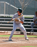 David Thomas / Oakland Athletics 2008 Instructional League..Photo by:  Bill Mitchell/Four Seam Images