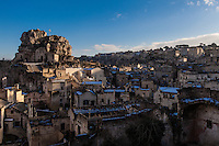 Europe,Italy,Basilicata, Matera, capital of Culture, World Heritage Site,Church San Pietro caveoso