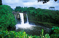 Rainbow Falls.  Located near the town of Hilo on the Big isle of Hawaii.