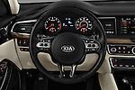 Car pictures of steering wheel view of a 2018 KIA Cadenza Premium 4 Door Sedan Steering Wheel