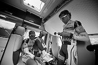 Vacansoleil-DCM Tour de France 2012 recon stage 11..the camper