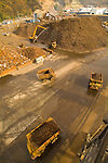 Ship loading of shredded scrap metal for export