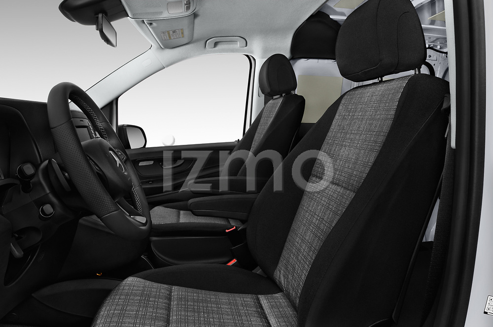 Front seat view of a 2019 Mercedes Benz Metris Base 5 Door Cargo Van front seat car photos