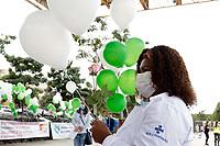 Campinas (SP), 15/05/2021 - Ato Enfermagem - Para conscientizar a sociedade sobre esse cenário e conquistar apoio a essa agenda de reivindicações, o Coren-SP, juntamente com a ABEn, Faculdade de Enfermagem da Unicamp, Sindicato dos Trabalhadores do Serviço Municipal de Campinas, Sinsaúde, Conselho Municipal de Saúde de Campinas, STU e Associação dos Docentes da Unicamp realizaram um ato neste sábado (15), na Praça Arautos da Paz, em Campinas (SP), em meio à programação da Semana da Enfermagem 2021. Na pauta, estão a aprovação de um piso salarial nacional, jornada de 30 horas semanais, defesa do SUS e mais respeito à enfermagem.