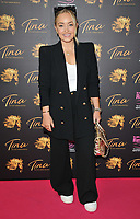"""Alice Liveing at the """"Tina: The Tina Turner Musical"""" Refuge gala performance, Aldwych Theatre, Aldwych, on Sunday 10th October 2021, in London, England, UK. <br /> CAP/CAN<br /> ©CAN/Capital Pictures"""
