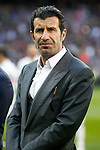 Real Madrid's legend Luis Figo during La Liga match. January 7,2016. (ALTERPHOTOS/Acero)