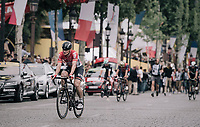 André Greipel (DEU/Lotto-Soudal) is disapointed after finishing on teh Champs-Elysées as he didn't win any stage in this Tour and that's a first in many Grand Tours participations (where he always won at least 1 stage) for him<br /> <br /> 104th Tour de France 2017<br /> Stage 21 - Montgeron › Paris (105km)