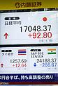 Tokyo Stocks up slightly at close