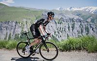 Ian Boswell (USA/SKY)<br /> <br /> stage 7: Aoste > Alpe d'Huez (168km)<br /> 69th Critérium du Dauphiné 2017
