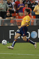 Monarcas Morelia defender Mauricio Romero (26) controls the ball during the game. Monarcas Morelia tied DC United 1-1 in the SuperLiga opening match in group B, at RFK Stadium in Washington DC, Wednesday July 25, 2007.