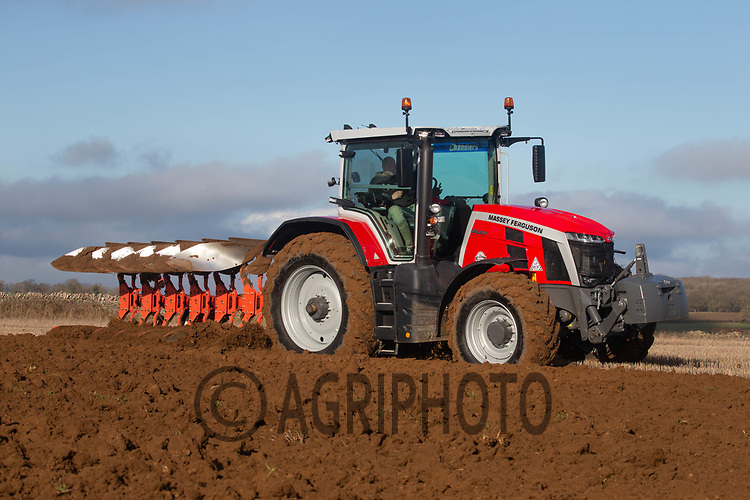 5-2-2021 Ploughing in Rutland <br /> ©Tim Scrivener Photographer 07850 303986<br />      ....Covering Agriculture In The UK....