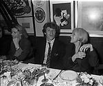FLORIANO OMOBONI<br /> FESTA DELLO STILISTA MIGUEL CRUZ A LA TAMPA MILANO 1987