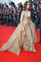 Sonam Kapoor sur le tapis rouge pour la projection du film MISE A MORT DU CERF SACRE lors du soixante-dixième (70ème) Festival du Film à Cannes, Palais des Festivals et des Congres, Cannes, Sud de la France, lundi 22 mai 2017. Philippe FARJON / VISUAL Press Agency
