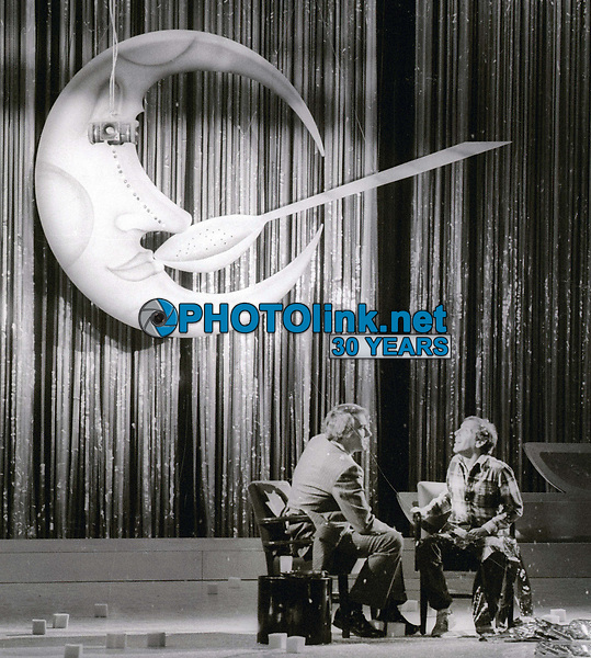 Steve Rubell and Tom Snyder 1978<br /> Photo By Adam Scull/PHOTOlink.net