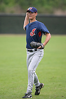 March 20th 2008:  Michael Eisenberg of the Cleveland Indians minor league system during Spring Training at Chain of Lakes Training Complex in Winter Haven, FL.  Photo by:  Mike Janes/Four Seam Images