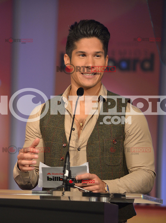 MIAMI, FL - FEBRUARY 05: Chino at the Telemundo and Premios Billboard 2013 Press Conference at Gibson Miami Showroom on February 5, 2013 in Miami, Florida. © MPI10/MediaPunch Inc /NortePhoto